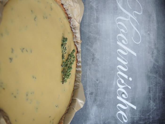 lemon thyme tarte zitronen thymian tarte kuchen cake dessert food essen rezept recipe