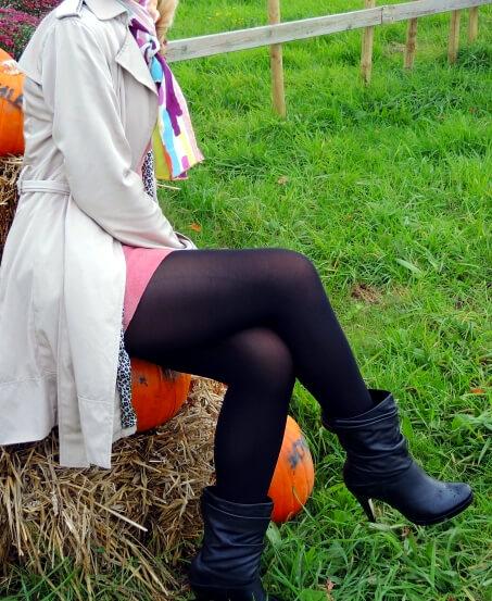 Pumpkin meets Leather, Kürbis und Leder, fashion, style, streetstyle, Mode, Outfit, Trend, Zara, Leo