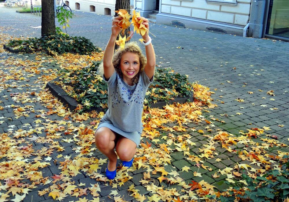 H&M Coordinator Zweiteiler Herbst Autumn Outfit 2014 Fashion Fashionblog Blog Mode