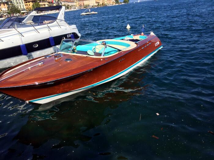 Salo Gardasee Lake Garda Summer holiday in Italy Italien Rivaboat
