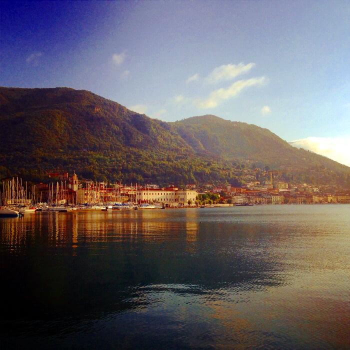 Salo Gardasee Lake Garda Summer holiday in Italy Italien