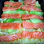 Lachs-Wirsing-Lasagne / Salmon Savoy Lasagne, Foodblog