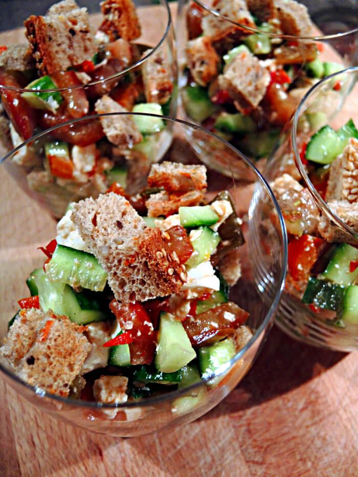Gazpacho Salad, Foodblog, Food