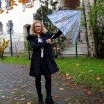 Outfit Wellensteyn Jacket and Jean Paul Gaultier Umbrella Black Streetstyle Fashion Blog