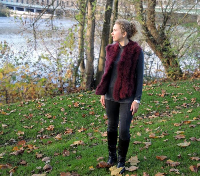 Fake Fur Waistcoat, Fashion ID, Fashionblog, Blog, Outfit, Streetstyle