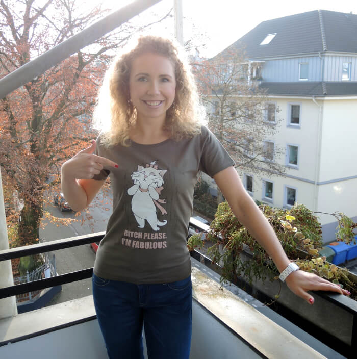 Statement T-Shirt Look Outfit Comic Likoli Fashionblog