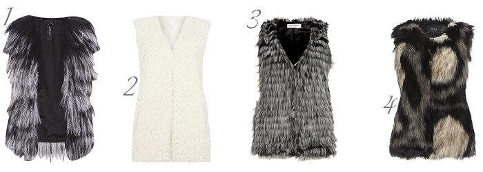 Fake Fur Waistcoat Winter Musthave Outfit Fashion ID Trend Fashionblog Streetstyle Look