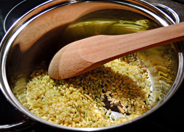 Recipe: Lemon Almond Risotto, Foodblog, Kationette, Fashionblog