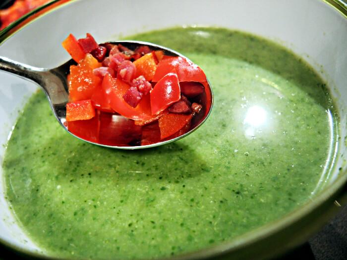 Recipe: Green Soup, Foodblog, Kationette, Fashionblog, Rezept, Kale, Broccoli, Zucchini