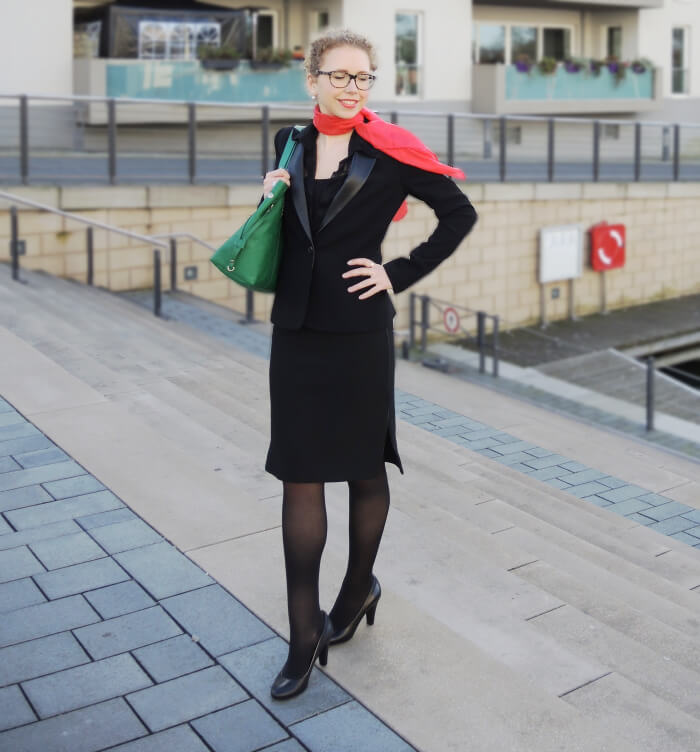 Outfit: My Business Look, Office, Kationette, Streetstyle, Style, Fashionblog, Pencilskirt