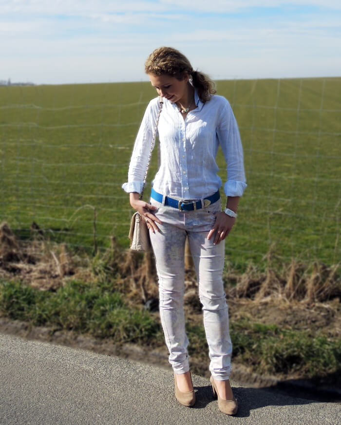 Outfit: Pastel Flowers, Fashionblog, Kationette, Look, Streetstyle, Style, Spring, Frühling