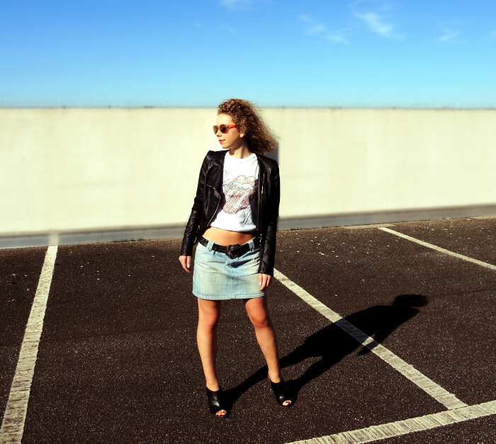 Outfit: Rockin' Spring, Fashionblog, Kationette, Look, Streetstyle, Style, Rock'n'Roll, Rolling Stones