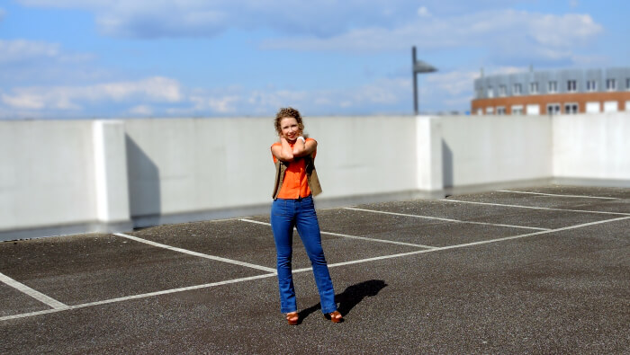 Outfit: Seventies, 70s, Flares, Schlagjeans, Platforms, Plateau, Fashionblog, Modeblog, Kationette, Streetstyle, Style, Look