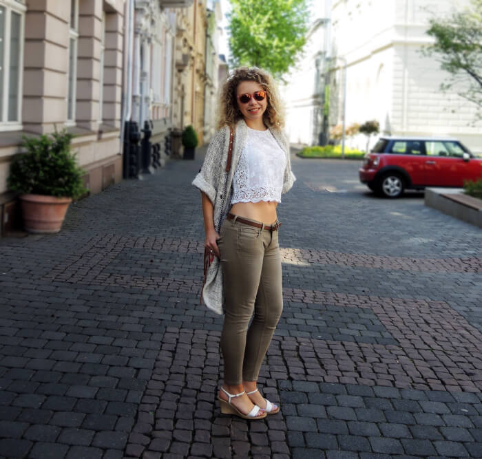 Oufit: Shades of White and Beige with Candy Bag, Kationette, Fashionblog, Modeblog, Look, Streetstyle