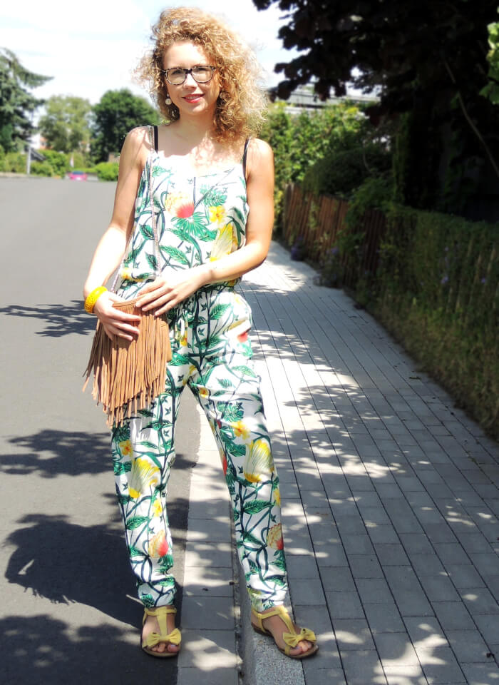 Outfit: Jungle Fever in the City with Printed Jumpsuit, Kationette, Modeblog, Fashionblog, Style, Sommer 2015