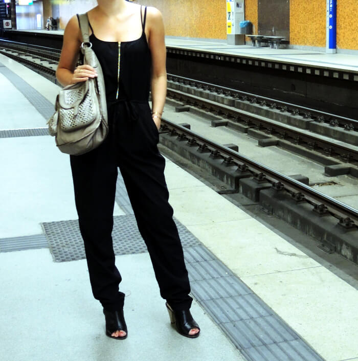 Outfit: Black Jumpsuit
