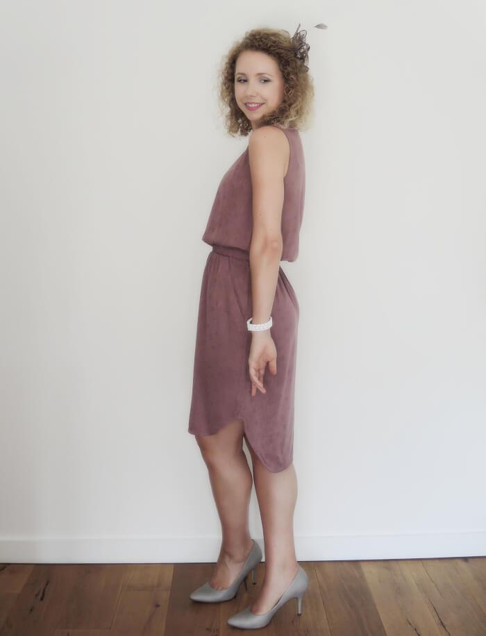 Outfit: Dusky Pink Wedding Guest Look, Kationette, Fashionblog, Modeblog