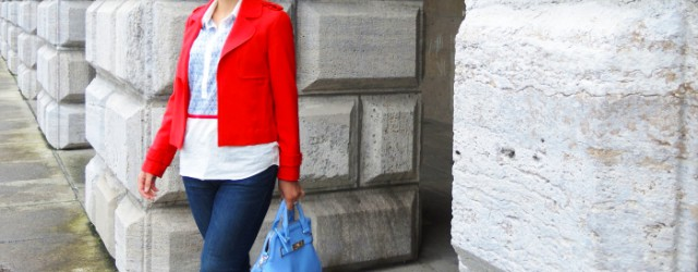 Outfit: Red, White and Blue, Kationette, Fashionblog, Modeblog, Style, Streetstyle, Look