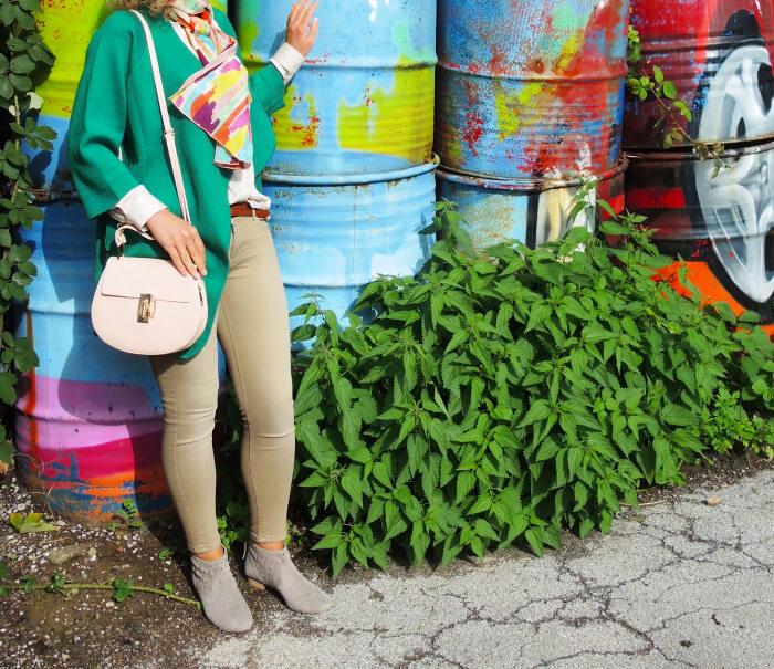 Outfit: New Green Cardigan, Fashionblog, Kationette, Modeblog, Streetstyle, Look, Style