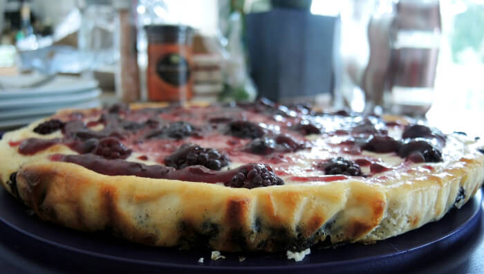 Recipe: Oreo Blackberry Cheesecake, Food, Rezept, Kuchen, Käsekuchen, Foodblog, Lifestyleblog, Kationette