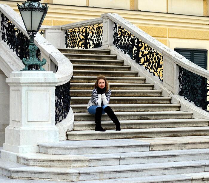 Outfit: Winter Look at Schloss Schönbrunn , Kationette, Fashionblog, Modeblog, Streetstyle