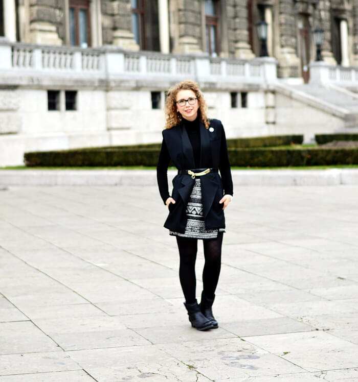 Outfit: Classy in Vienna with H&M x Balmain Vest, Kationette, Fashionblog, Modeblog, Streetstyle, HMBalmaination