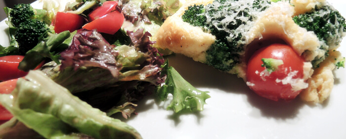 Recipe: Light broccoli clafoutis with Parmesan, veggie, cleaneating, healthyfood, foodblog, foodblogger, kationette, rezept