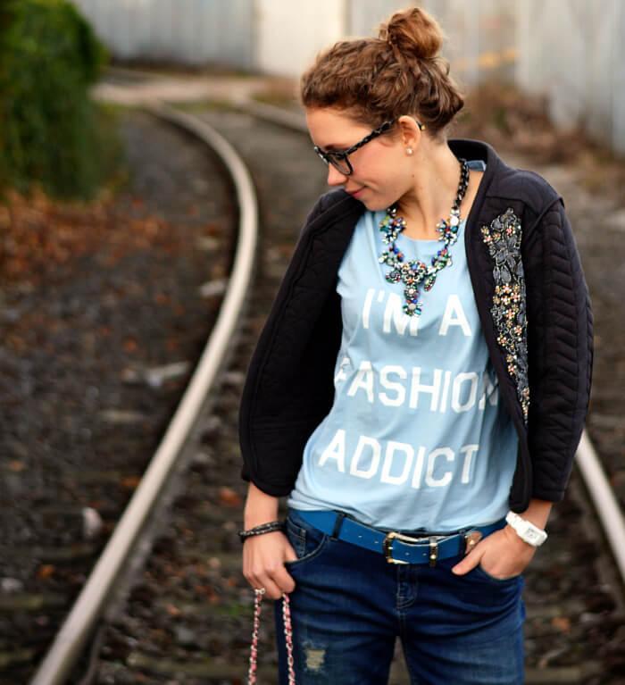 Outfit: I'm a Fashion Addict, Kationette, Fashionblog, Modeblog, Streetstyle, Look