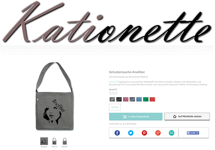 Review: My own Online-Shop with Spreadshirt, Kationette, Lifestyle, Fashionblogger