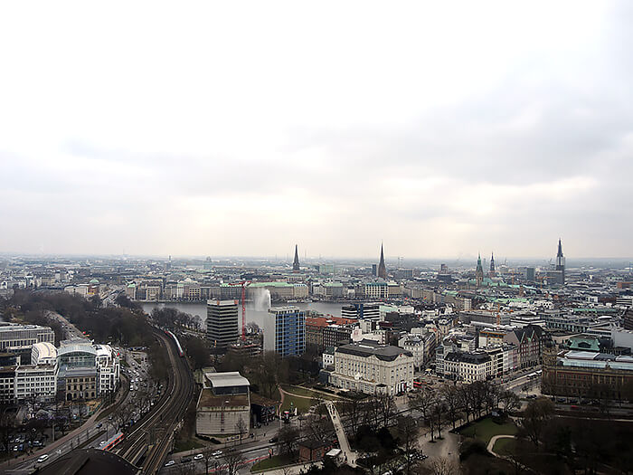 Travel: Hamburg Millerntor Stadium and Radisson Blu Rooftop