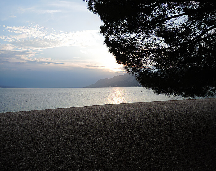 Kationette-travelblog-coatia-brela-adria-riviera-coast-beach-sunset