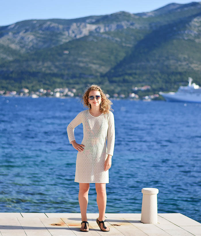 Bathing Suit from Zara on Korcula Island, Croatia