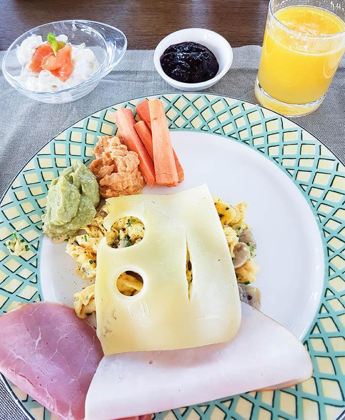Food: Alpine-Mediterranean gourmet cuisine at Hotel Hohenwart