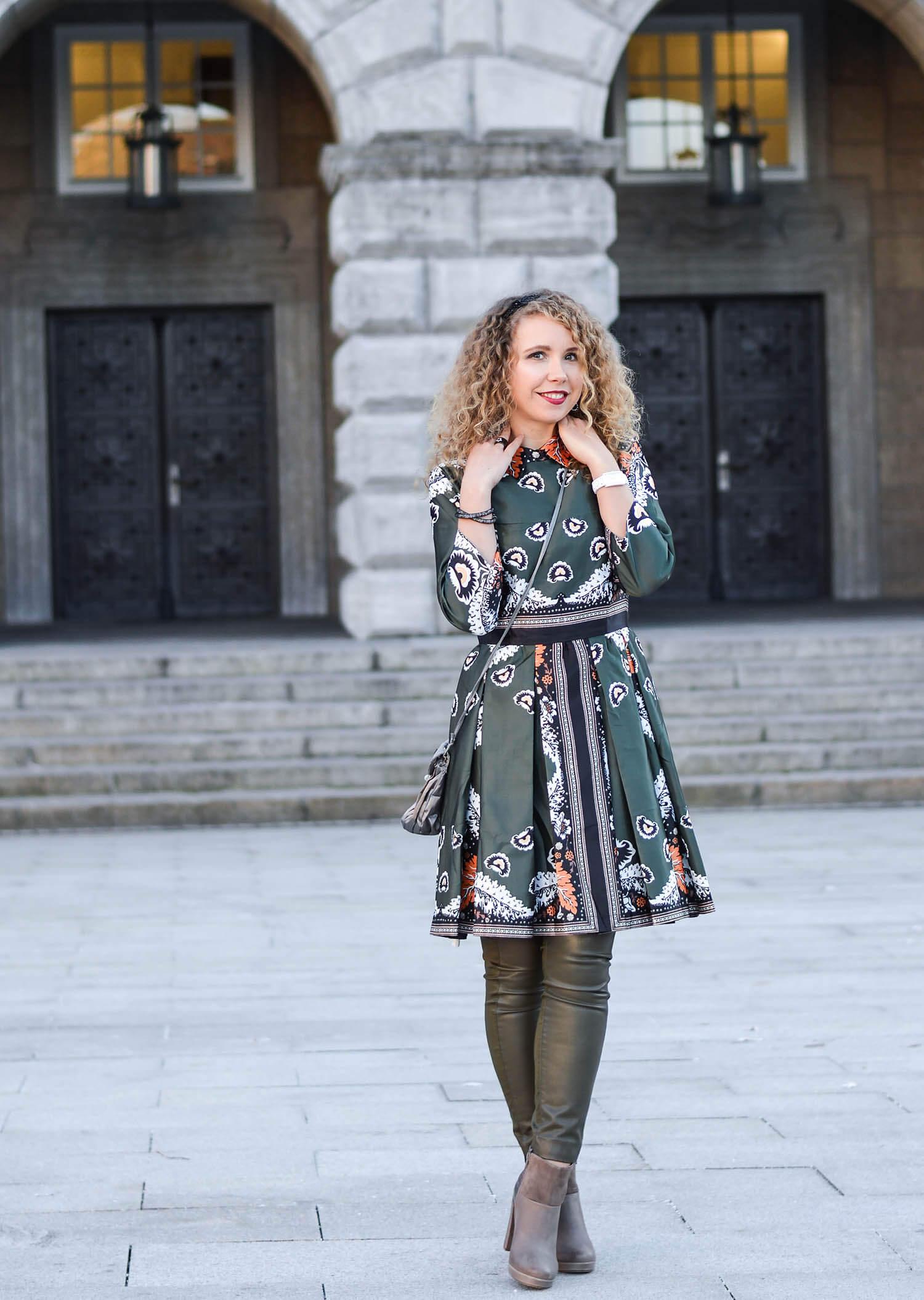 Outfit: Christmas Dress à la Blair Waldorf