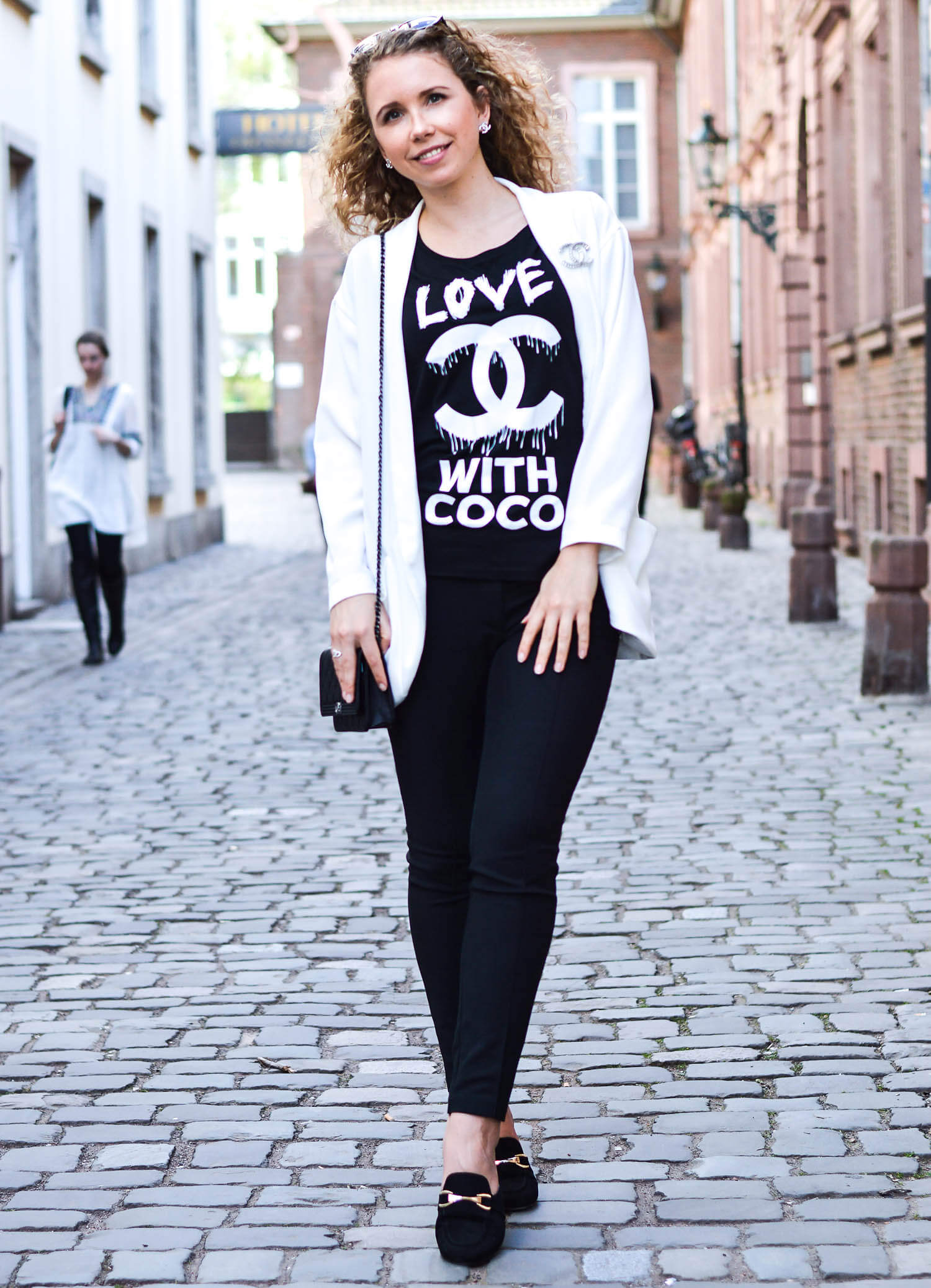Kationette-fashionblog-Outfit-Coco-Chanel-streetstyle-blackandwhite-mules
