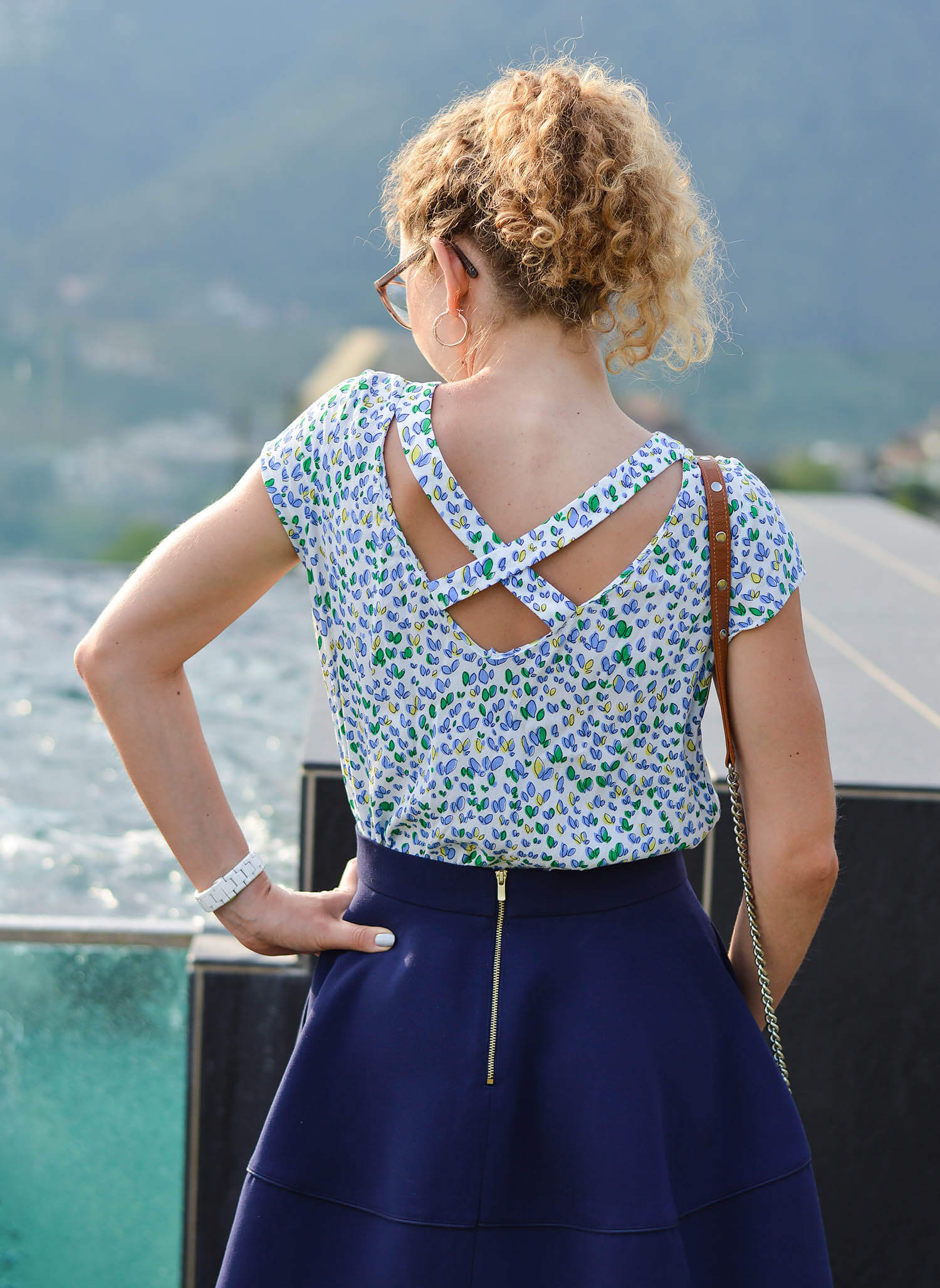 Kationette-fashionblog-nrw-Outfit-Flared-Skirt-Zara-Blouse-Hotel-Hohenwart-South-Tyrol