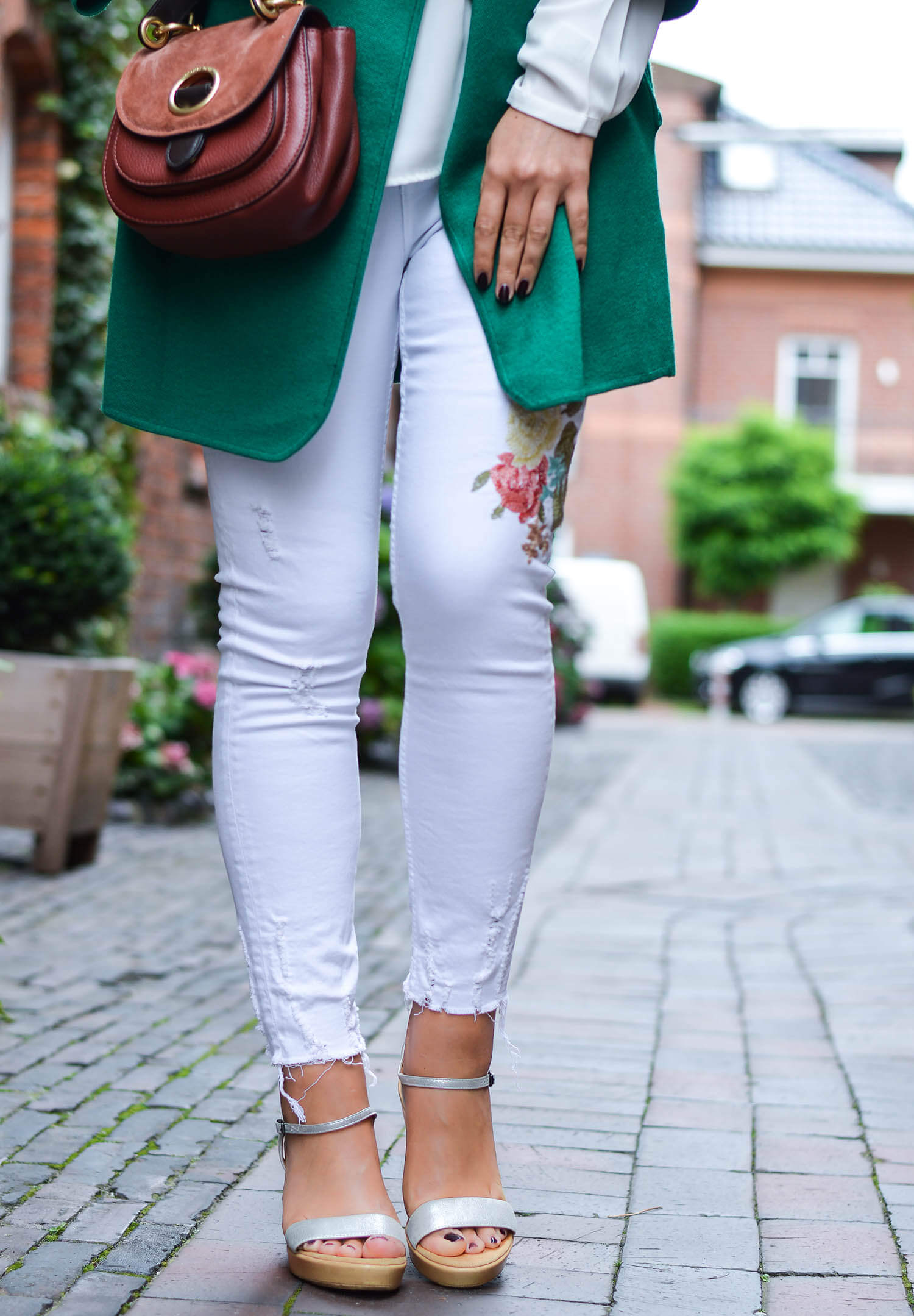 kationette-fashionblog-nrw-summer-Outfit-Green-Knit-White-Denim