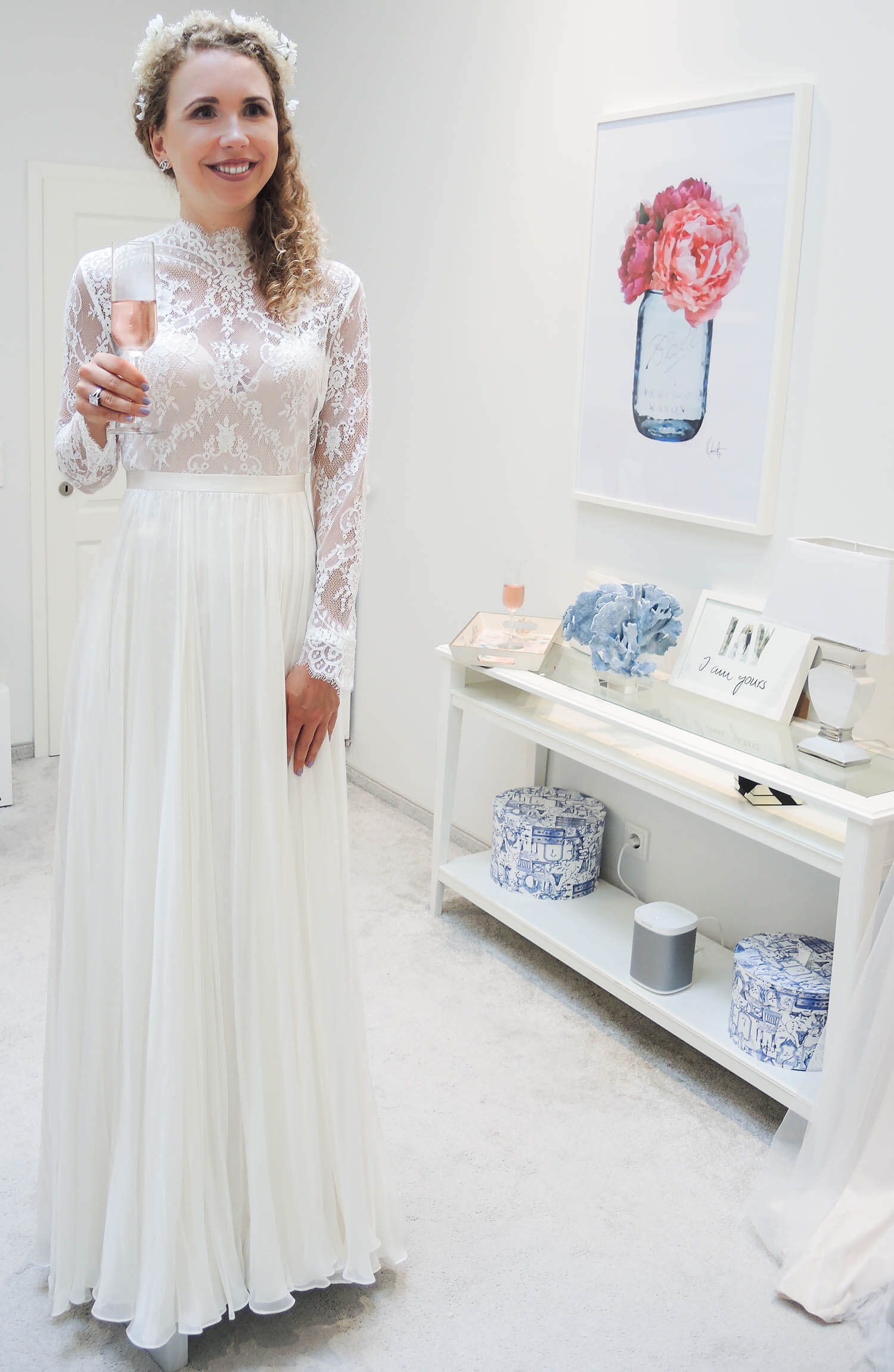 Wedding Update Bride Dress Fitting At I Am Yours Dusseldorf
