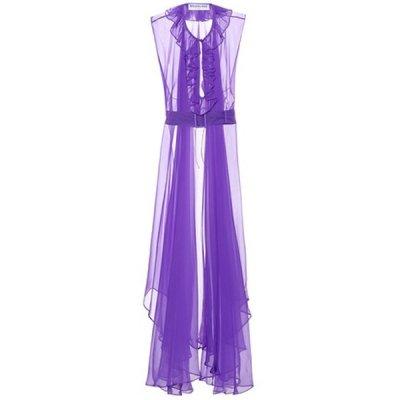 Balenciaga – Kleid aus Seidenorganza