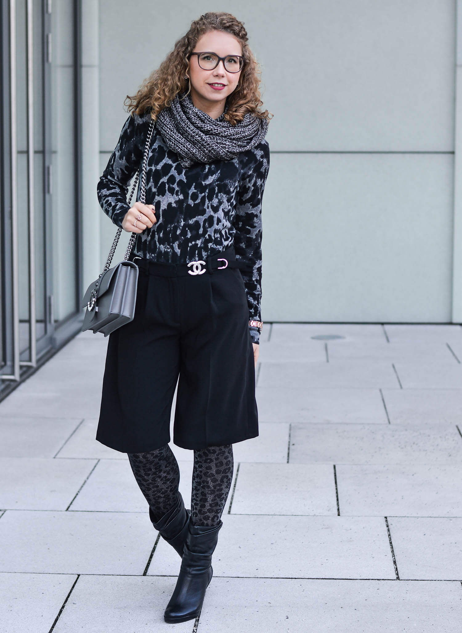 Kationette-Outfit-Grey-Leopard-with-Drykorn-sweater-and-Calzedonia-tights-fashionblogger-nrw-streetstyle