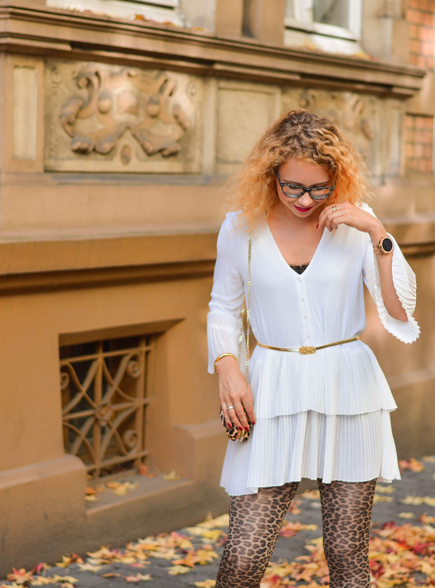 Leopard-Patterns-White-Blouse-New-Fall-Trend-Outfit-kationette-fashionblogger-germany