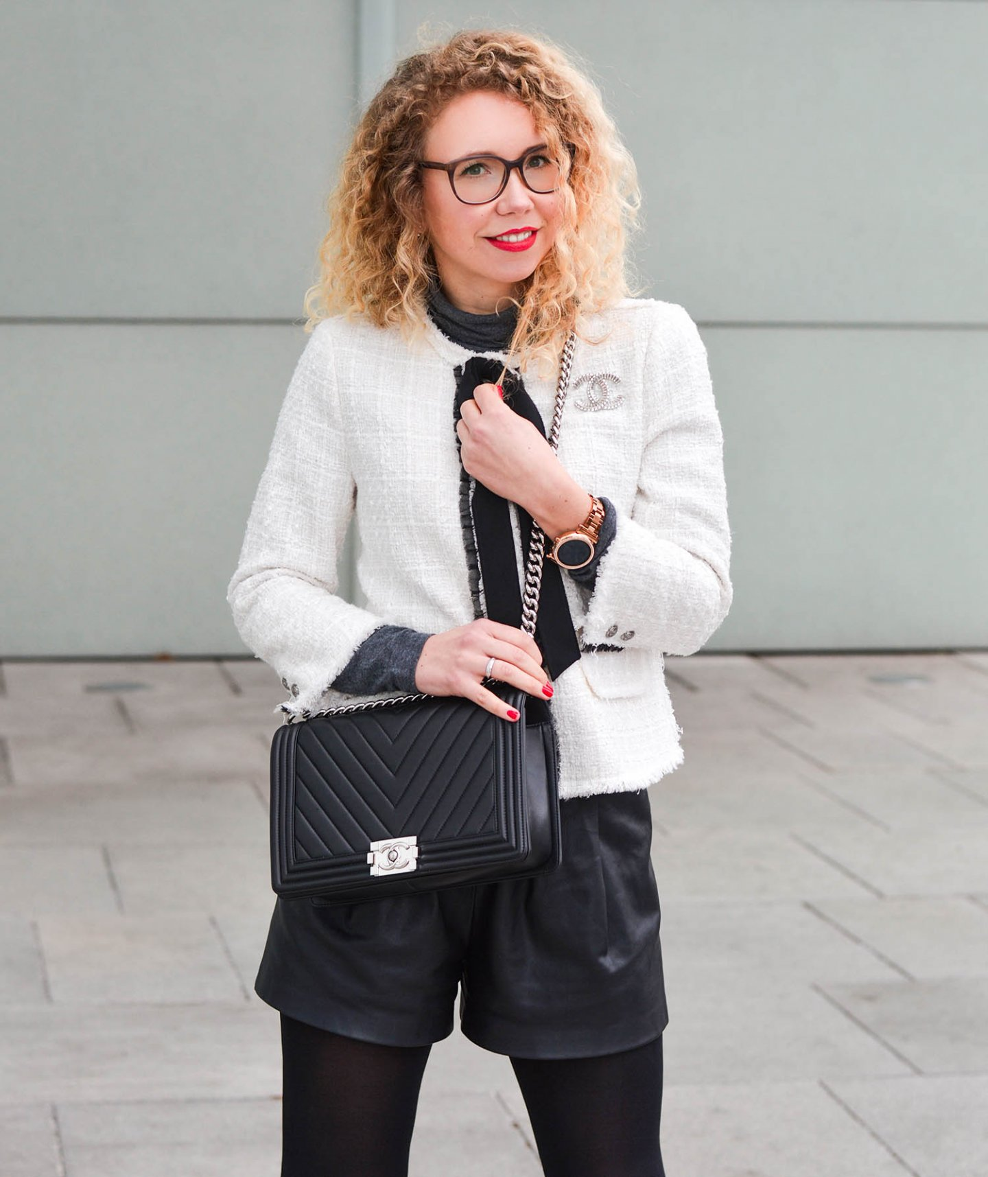 Chanel-Boy-Bag-Der-erste-Look-mit-meiner-Traumtasche-Kationette-Fashionblog-Germany-Outfit