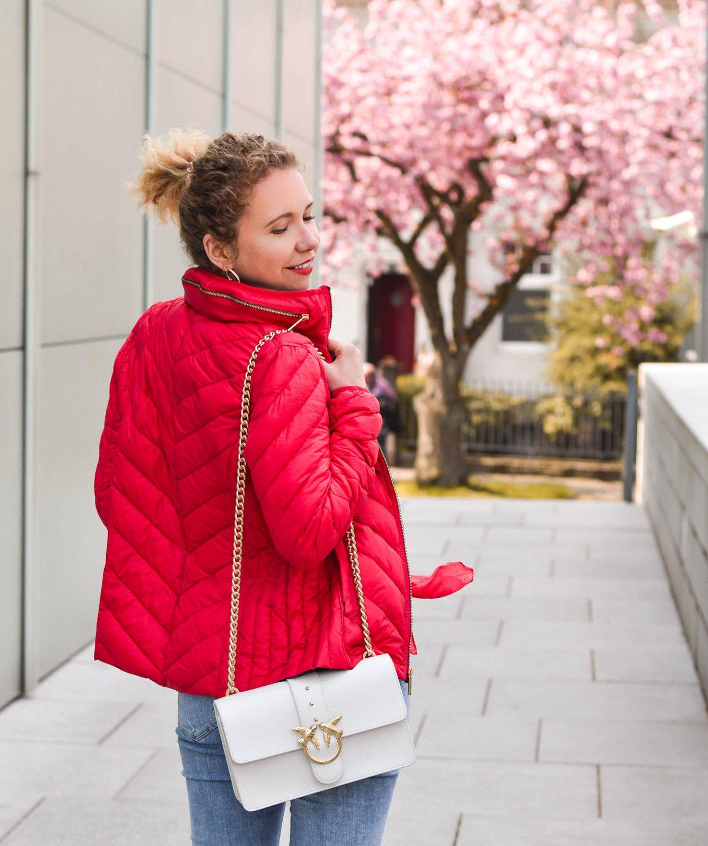 rote steppjacke fashiontauglich