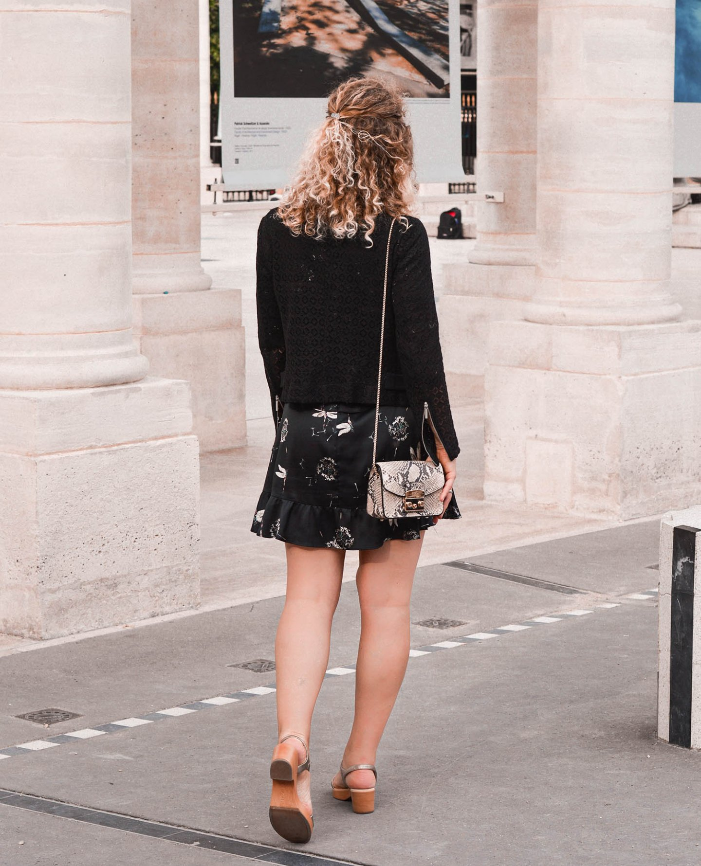 elegantes outfit in paris