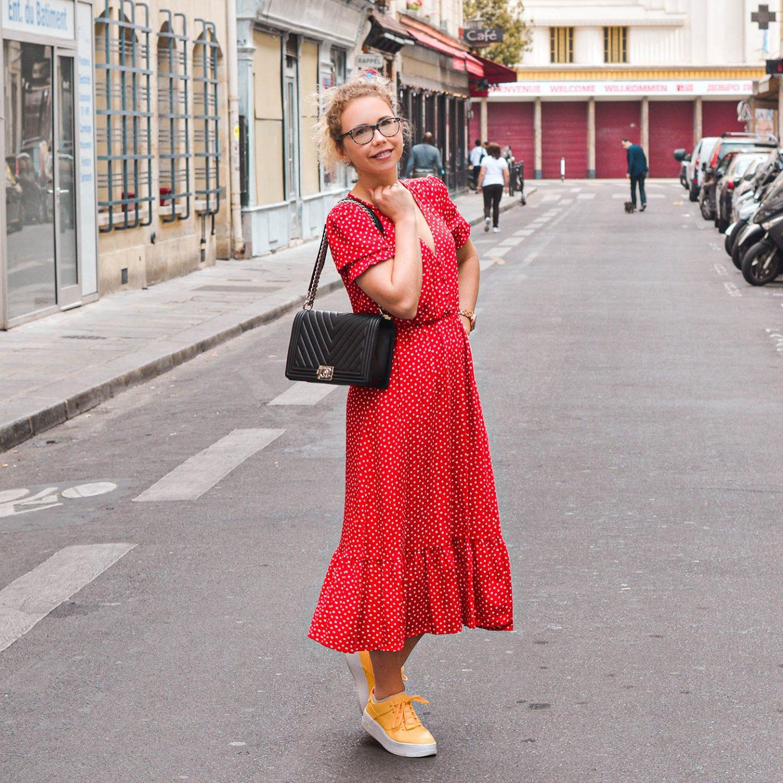 pünktchenkleid in Paris