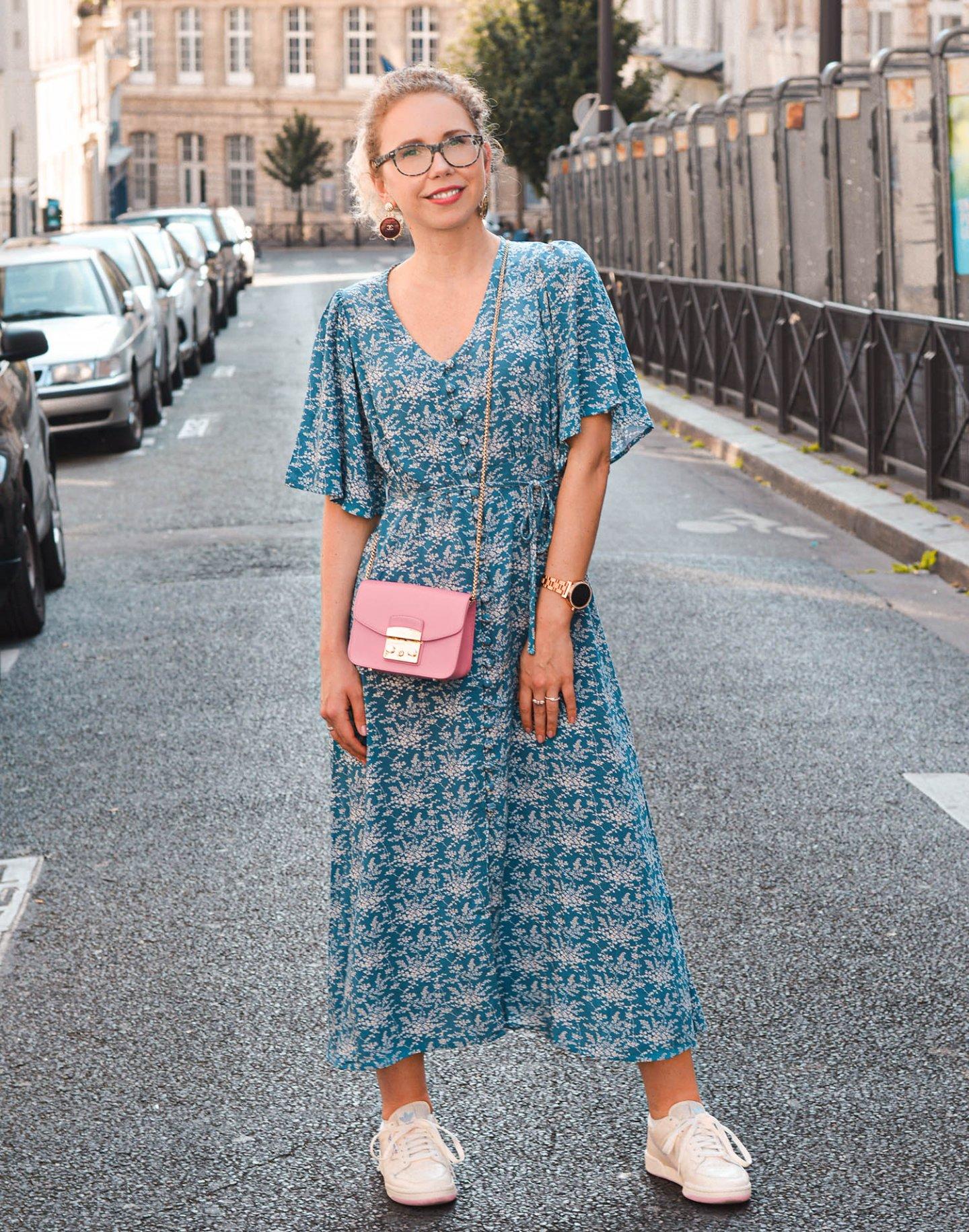 trendkleider mit blumenprint
