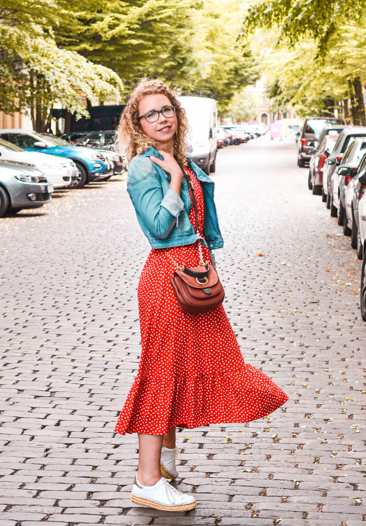 polka dots kleid - sommeroutfit fashionblogger
