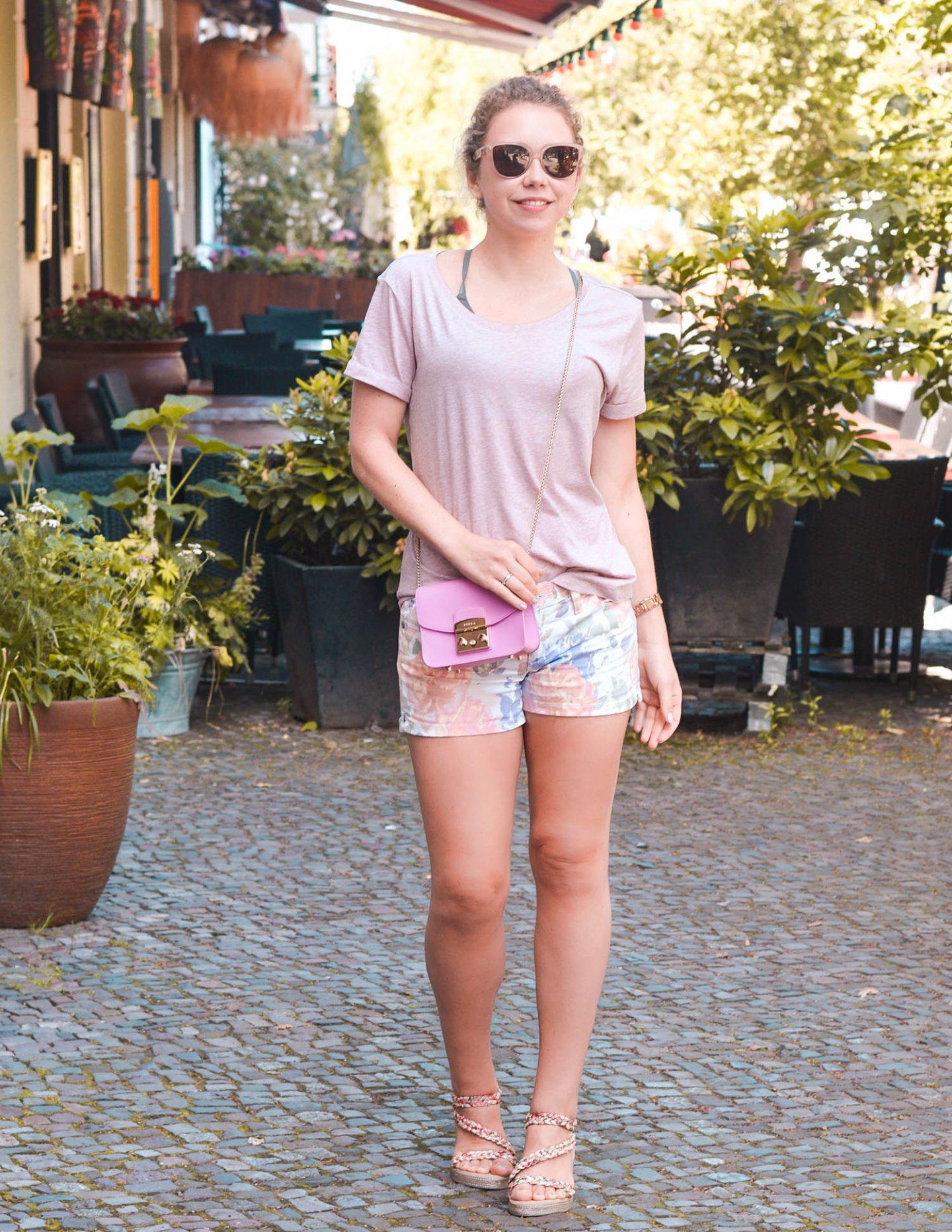 Sommerliche Kombi in Rosa - Kationette streetstyle Berlin