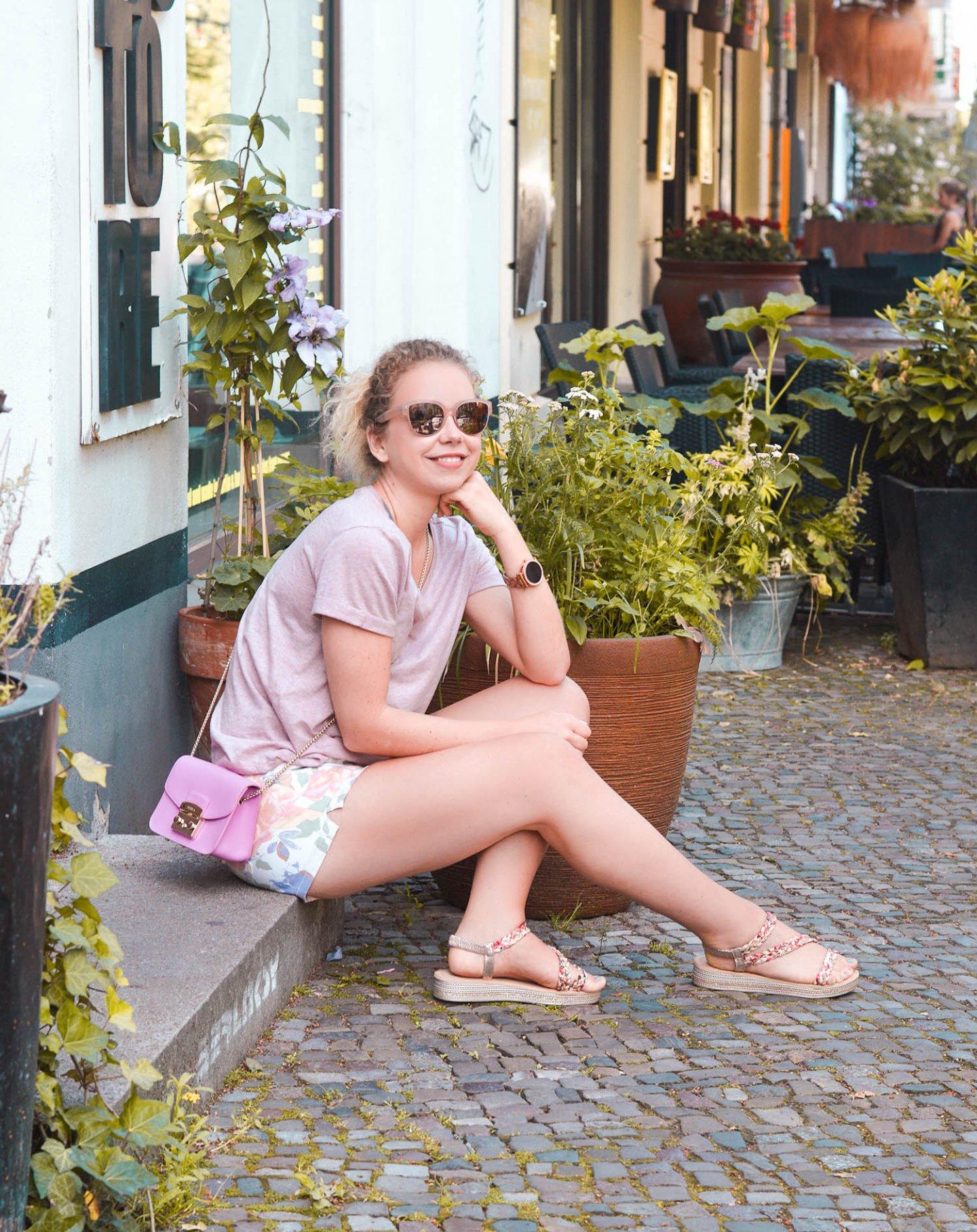 Sommerliche Kombi in Rosa in prenzlauer berg, Berlin
