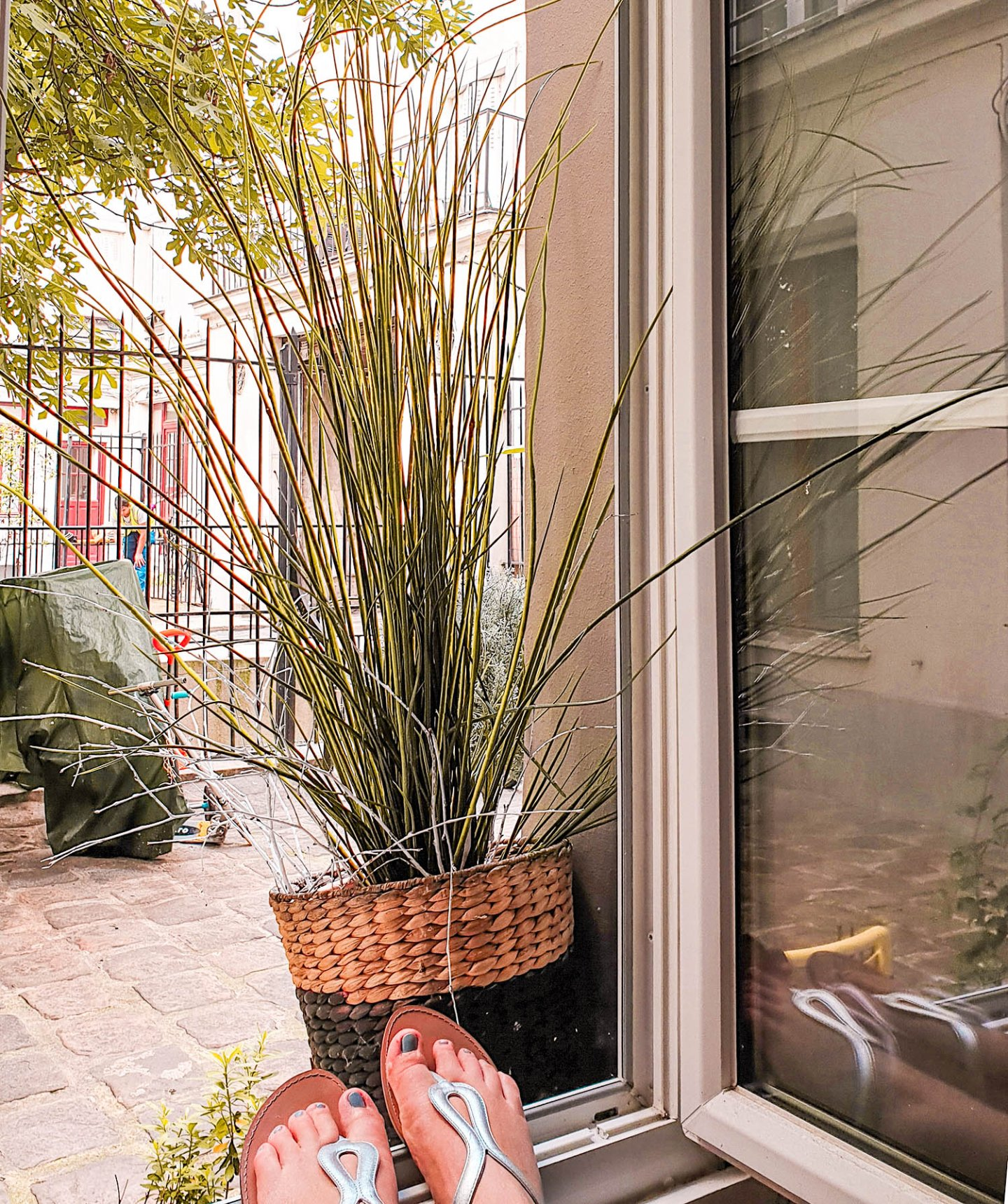 Pariser Apartment mit Innenhof